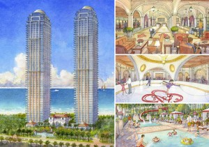 Renderings of Estates at Acqualina