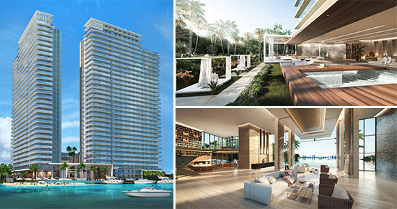 Renderings of The Harbour in North Miami Beach