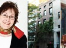 From left: Malcolm Forbes, Brown Harris Stevens' Paula Del Nunzio and the exterior and interior of 11 West 12th Street