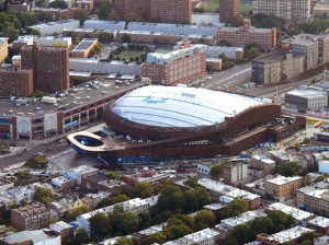 Retail rents are expected to continue to rise in 2013 around Brooklyn's Barclays Center.