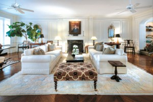 Journalist Mike Wallace's duplex at 730 Park Avenue, which is on the market with Burger for $17.95 million.