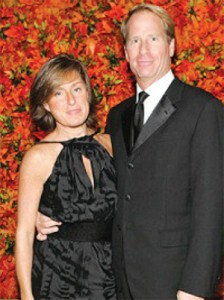 Swig and Elizabeth Macklowe during happier times. The couple filed for divorce in 2010
