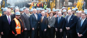 The Hudson Yards groundbreaking ceremony