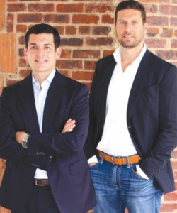 East End Capital partners David Peretz, left, and Jonathon Yormak