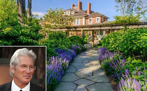 Richard Gere (inset), Strongheart Manor