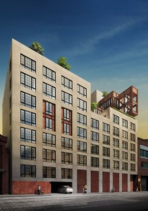 A rendering of 205 Water Street in Dumbo