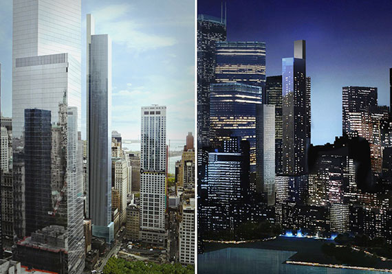 Renderings of 22 Thames Street
