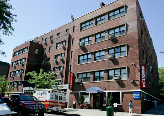 Mount Sinai hospital in Queens