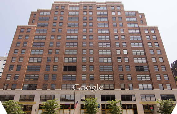 Google's 111 Eighth Avenue NYC headquarters