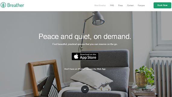 Breather's home page