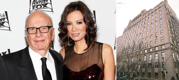 Rupert Murdoch, Wendi Deng and 834 Fifth Avenue