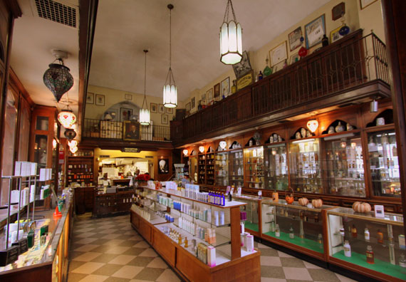 The former Lascoff Pharmacy at 1209 Lexington Avenue