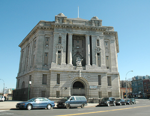 The Bronx Courthouse on East 161st Street in Melrose