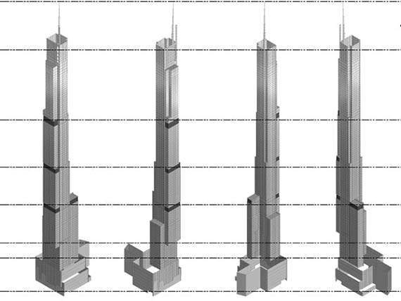 Nordstrom Tower drawings
