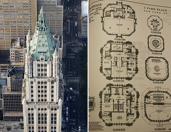 Woolworth building new york woolworth building condos for Broadway plan