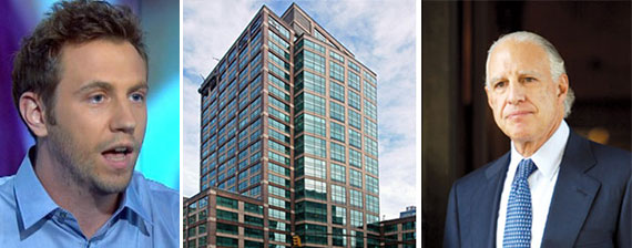 From left: Ben Uretsky, 101 Sixth Avenue and Edward Minskoff