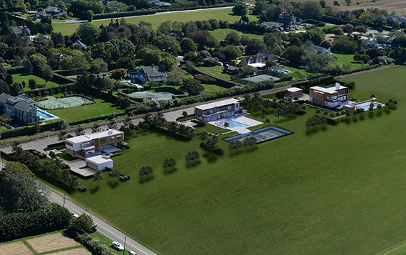 Sagaponack estate rendering, courtesy of Bespoke Real Estate and GRADE Architecture + Interior Design