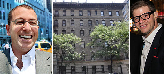 From left: Joseph Sitt, 840 West End Avenue on the Upper West Side and Steven Vegh