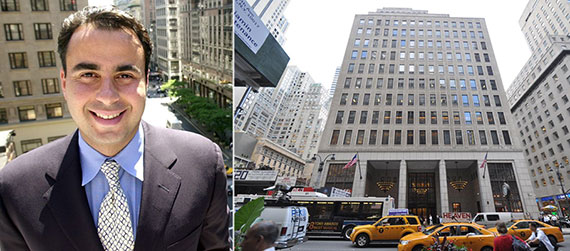 From left: Ben Ashkenazy and 522 Fifth Avenue