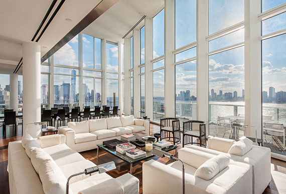 Price tag on richard meier designed penthouse upped to 40m for 38th street salon