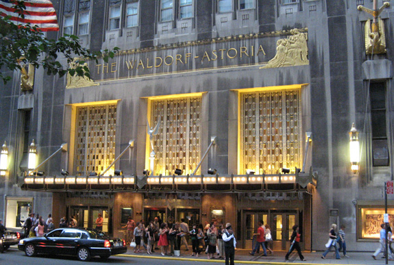 The Waldorf-Astoria at
