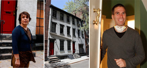 Pari Dulac, 14 Minetta Street in the West Village and Jud Parker