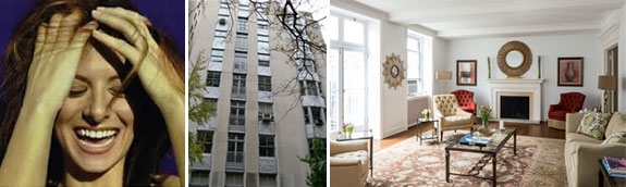 Debra Messing and 3 East 84th Street on the UES