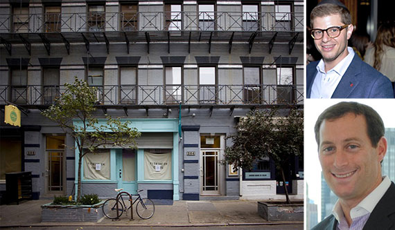 Clockwise from left: 268 Elizabeth Street, Steven Vegh and Robert Morgenstern