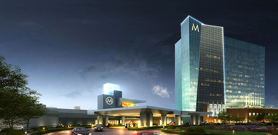 Rendering of Montreign Resort Casino in Thompson, N.Y.