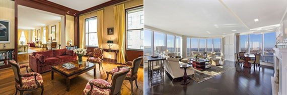 Israel Englander's $71M 740 Park Avenue and $118M Ritz Carlton penthouse listing
