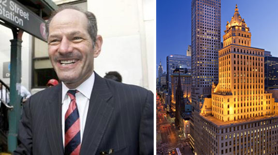 Elliot Spitzer and the Crown building