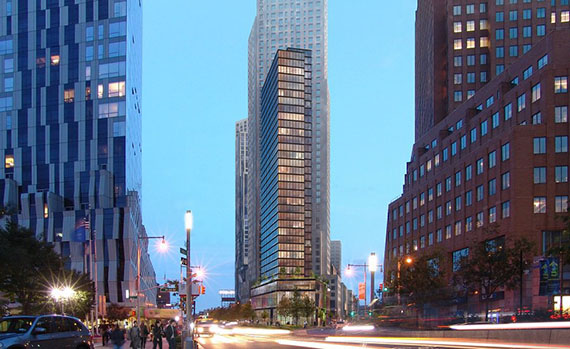 Renderings for 141 Willoughby Street in Downtown Brooklyn