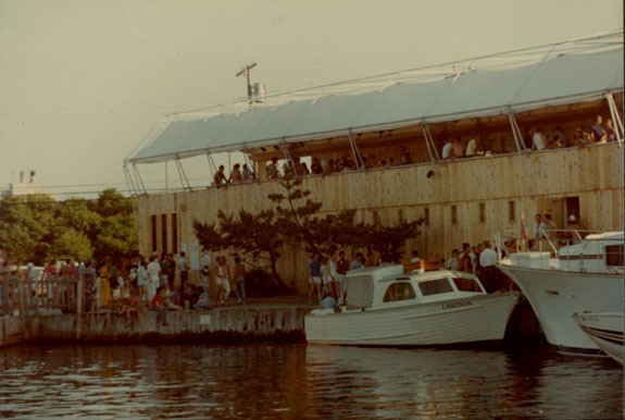 The Pavilion on Fire Island in 1980