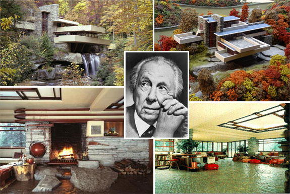 Frank Lloyd Wright and Fallingwater