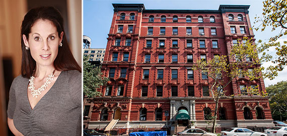 From left: Margaret Streicker Porres and 101 West 78th Street