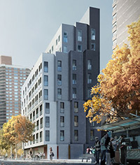 Rendering of My Micro NY at 335 East 27th Street