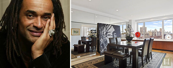 Yannick Noah and 230 Central Park South in Midtown West