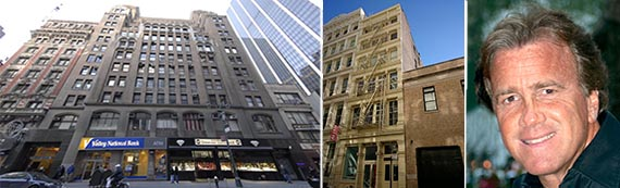 From Left: 62 West 47th Street, 130 Green Street and Jeff Sutton