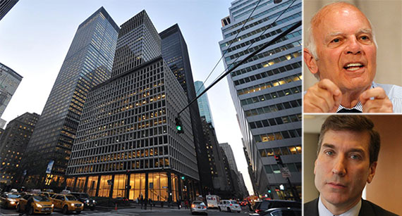 Clockwise from left: 280 Park Avenue, Vornado's Steven Roth and PJT Partners' Paul Taubman