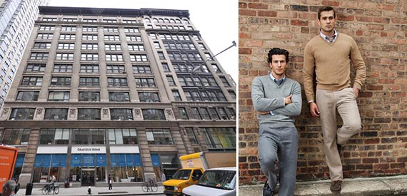 45 West 25th Street in NoMad and Bonobos models
