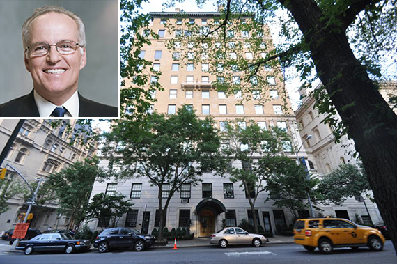 1107 Fifth Avenue on the Upper East Side (inset: Carlos Rodriguez-Pastor)