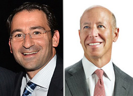 From left: Blackstone's Jonathan Gray and Starwood's Barry Sternlicht