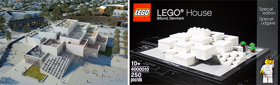 BIG's designs for the Lego museum