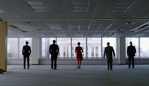 The Time Life building in a recent episode of Mad Men