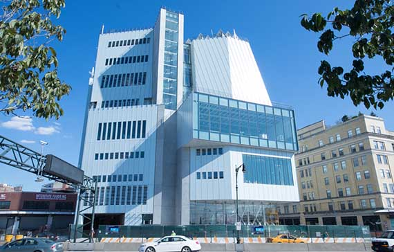 The new Whitney Museum in the Meatpacking District