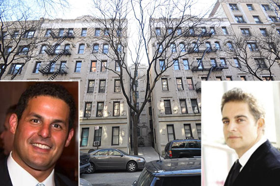 From left: Alan Klein, 526 West 111th Street and Aaron Jungreis
