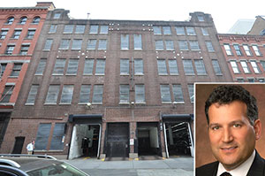56 N. Moore Street in Tribeca and Avison Young's Jon Epstein