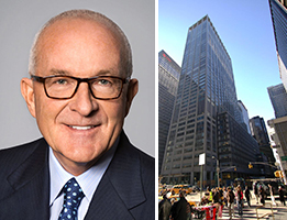 Paramount Group president Albert Behler and 1301 Sixth Avenue in Midtown
