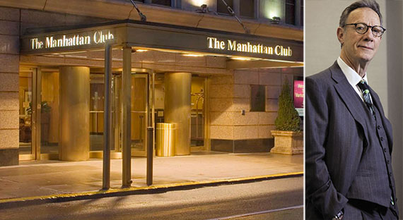 From left: the Manhattan Club at 200 West 56th Street