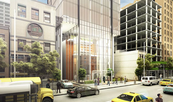 Rendering of 131-141 East 47th Street (Credit:  New Empire Real Estate via NY YIMBY)